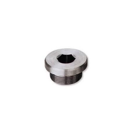 Verschlussschrauben mit Bund Innensechskant und Zylindrischem Metrieschem Gewinde, DIN 908 , A2, M14x1.5