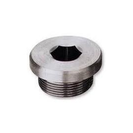 Verschlussschrauben mit Bund Innensechskant und Zylindrischem Metrieschem Gewinde, DIN 908 , A4, M18x1.5