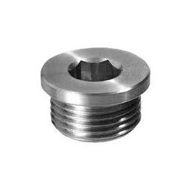 Verschlussschrauben mit Rohrgewinde , DIN 908 G , A2, G1/2